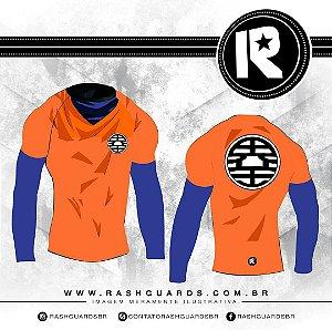 Rashguard Samurai Goku
