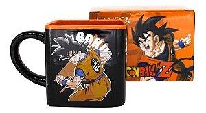 Caneca Cubo Desenho Anime Dragon Ball Z Goku Kuririn Sayajin