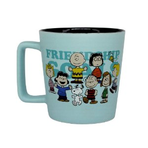 Caneca Buck Peanuts Charlie Brown Snoopy Friendship Goals