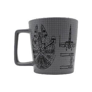 Caneca Buck 400 Star Wars Naves Disney Oficial