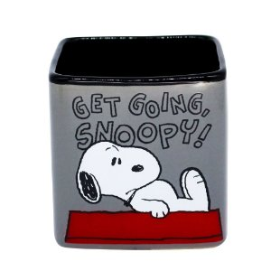 Caneca Cubo Frase Get Going Snoopy Peanuts Charlie Brown