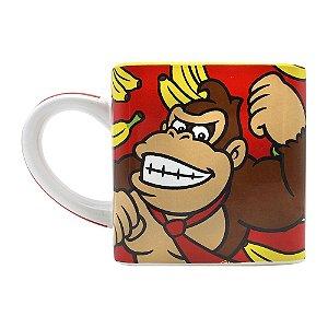 Caneca Cubo Donkey Kong Bananas Nintendo Super Mário Bros