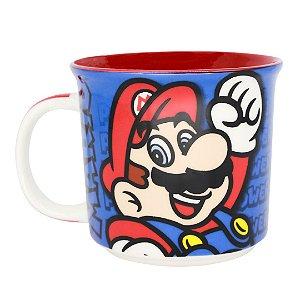 Caneca Tom Jogo Eletrônico Super Mario Bros Game Nintendo