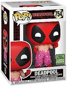 Boneco Funko Pop Deadpool 754 Heroi Marvel Comics