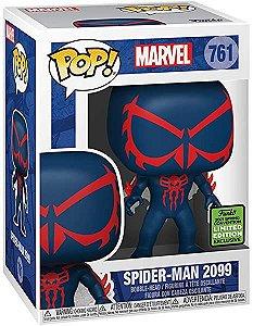 Boneco Funko Pop Marvel Spider Man 2099 761 Homem Aranha