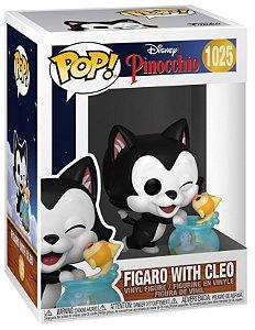Boneco Funko Pop Disney Pinoquio Figaro E Cleo 1025 Desenho
