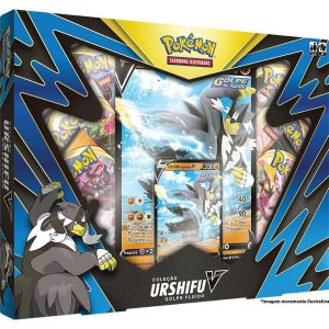 Cartas Pokemon Box Colecao Urshifu Golpe Fluido V Tcg Copag