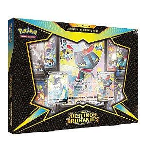 Cartas Pokemon Box Colecao Premium Dragapult Brilhante Vmax