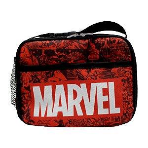Lancheira Termica Logo Marvel Comics Hq Clássico Quadrinhos