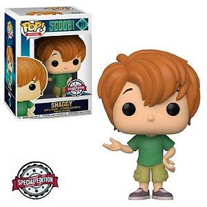 Boneco Funko Pop Salsicha 911 Shaggy Scooby Doo Exclusivo