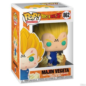 Boneco Funko Pop Vegeta Majin 862 Dragon Ball Z Anime Tv