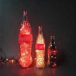 Luminária de Garrafa Coca-Cola