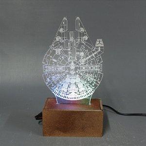 Luminária Millenium Falcon