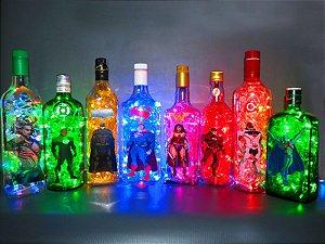 Luminárias DC Comics Nova Liga da Justiça
