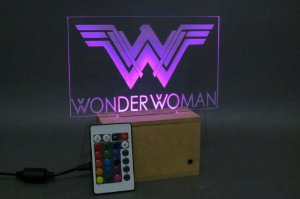 Luminárias Mulher Maravilha