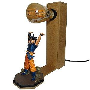Luminária  Goku Dragon Ball, Genki dama.