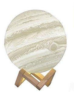 Luminária Júpiter 8cm (recarregável, a bateria)
