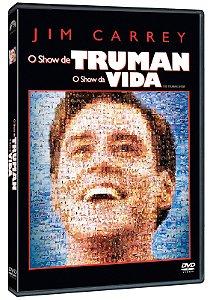 O SHOW DE TRUMAN - O SHOW DA VIDA DVD - ENTREGA A PARTIR DE 31/08/2021