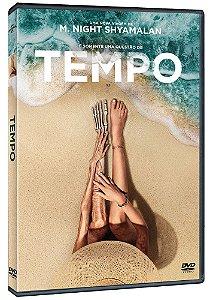 TEMPO - DVD  - PRÉ-VENDA 24/11/2021