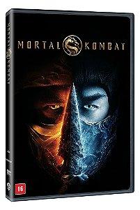 MORTAL KOMBAT (2021) - DVD - PRÉ-VENDA 06/10/2021
