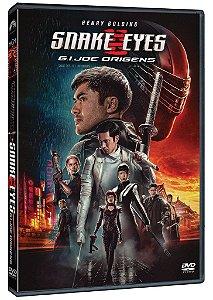 G.I. JOE ORIGENS - SNAKE EYES DVD - PRÉ-VENDA 24/11/2021