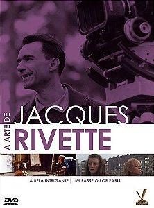 A ARTE DE JAQUES RIVETTE (DIGISTACK COM 02 DVDS)