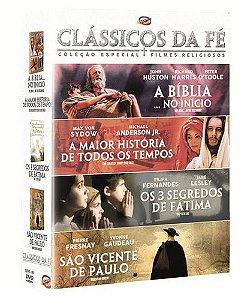 CLÁSSICOS DA FÉ (4 DVDS)