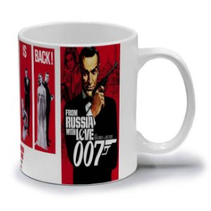 007 FROM RUSSIA WITH LOVE - CANECA