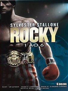 ROCKY - COLEÇÃO (6 DVDS)