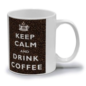 KEEP CALM COFFEE - CANECA
