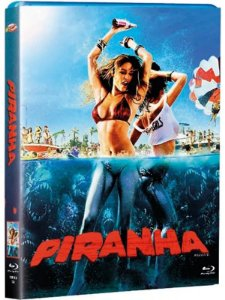 PIRANHA (2010) - BD + LUVA