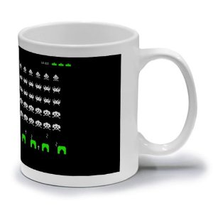 SPACE INVADERS A - CANECA