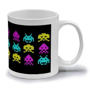 SPACE INVADERS B - CANECA