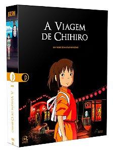 A VIAGEM DE CHIHIRO - EDIÇÃO ESPECIAL DE COLECIONADOR [BLU-RAY + DVD] - PRÉ-VENDA - 28/12/2021