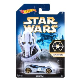 HOT WHEELS - STAR WARS - GENERAL GRIEVOUS