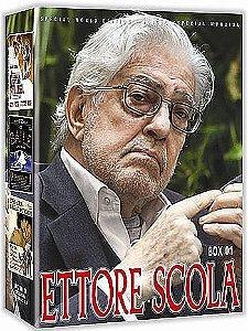 COLEÇÃO ETTORE SCOLA BOX 1 - 3 DVDS