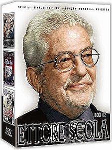 COLEÇÃO ETTORE SCOLA BOX 2 - 3 DVDS