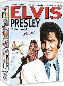 COLEÇÃO ELVIS PRESLEY VOL. 4 - 3 DVDS