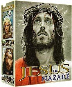 JESUS DE NAZARÉ - Franco Zeffirelli - PACK 4 DVDs