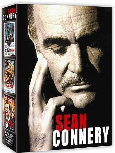SEAN CONNERY VOL.2 PACK 3 DVDS