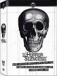 COLEÇÃO O HORROR SILENCIOSO - 3 DVDS