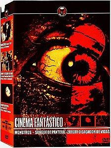 COLEÇÃO CINEMA FANTÁSTICO - 3 DVDS