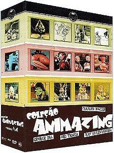 COLEÇÃO ANIMAZING VOL.4,5 E 6 - 3 DVDS