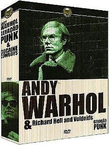 COLEÇÃO ANDY WARHOL - 2 DVDS