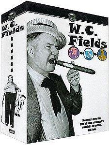 COLEÇÃO W.C. FIELDS - 3 DVDS