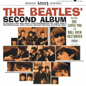 SECOND ALBUM - THE BEATLES