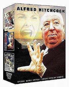 COLEÇÃO ALFRED HITCHCOCK - 3 DVDS