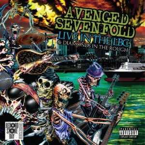 AVENGED SEVENFOLD LIVE IN THE LBC AND DIAMONDS IN THE ROUGH - (CD+DVD)