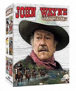 COLEÇÃO JOHN WAYNE - 5 DVDS
