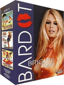 COLEÇÃO BRIGITTE BARDOT VOL.2 - 3 DVDS